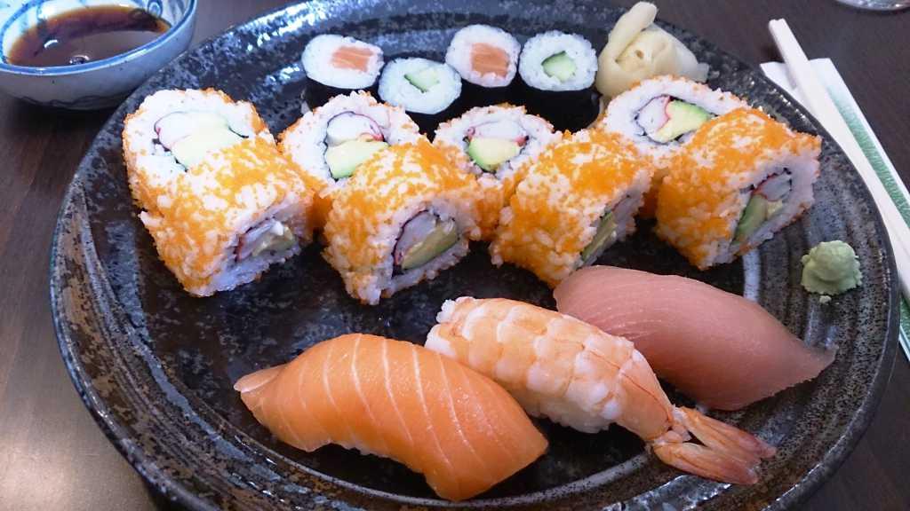 Sushi-Menü