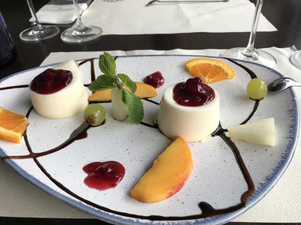Dessert: Panna Cotta