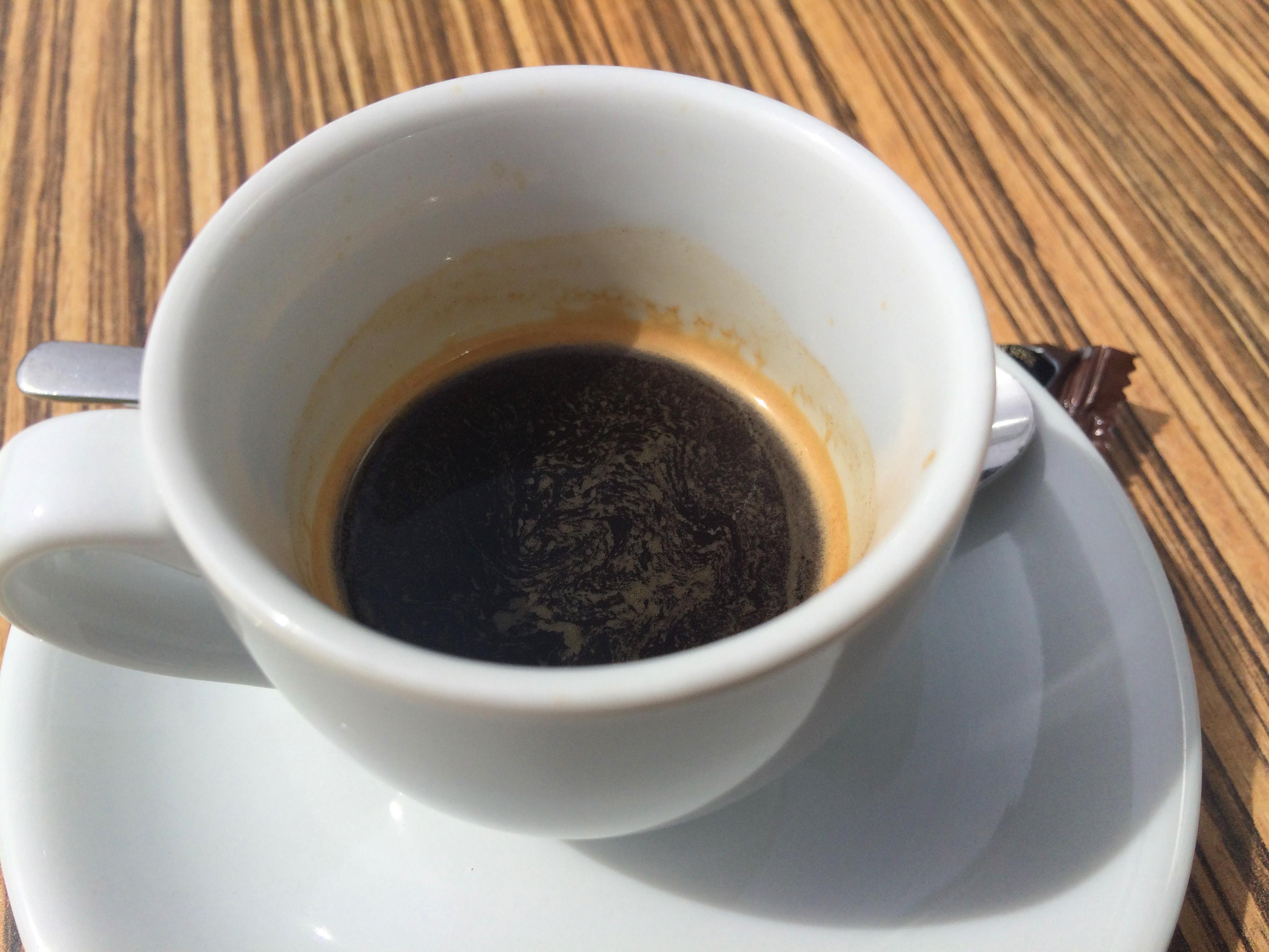 Espresso ohne Crema