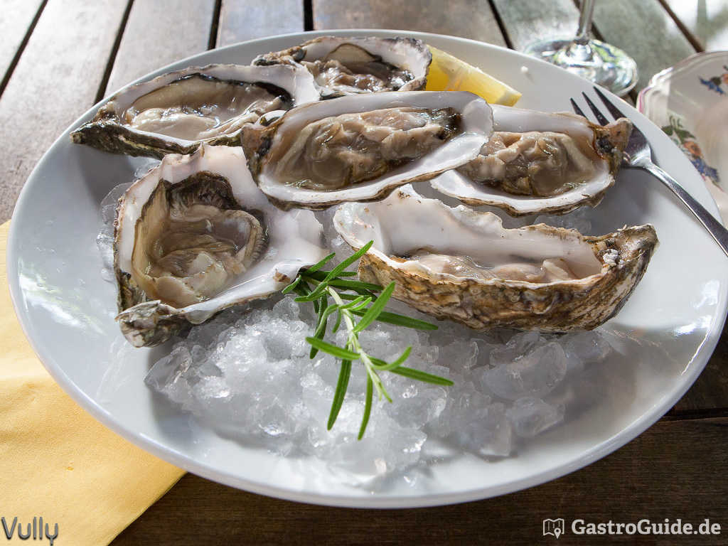 "Austern ""Special de Claires"" von Gillardeau"