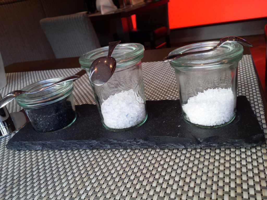 Salzauswahl