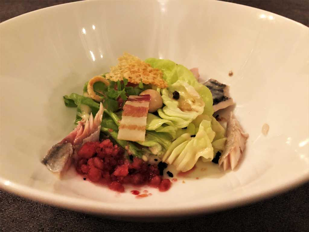 "Amuse Bouche: ""Caesar Salad"""