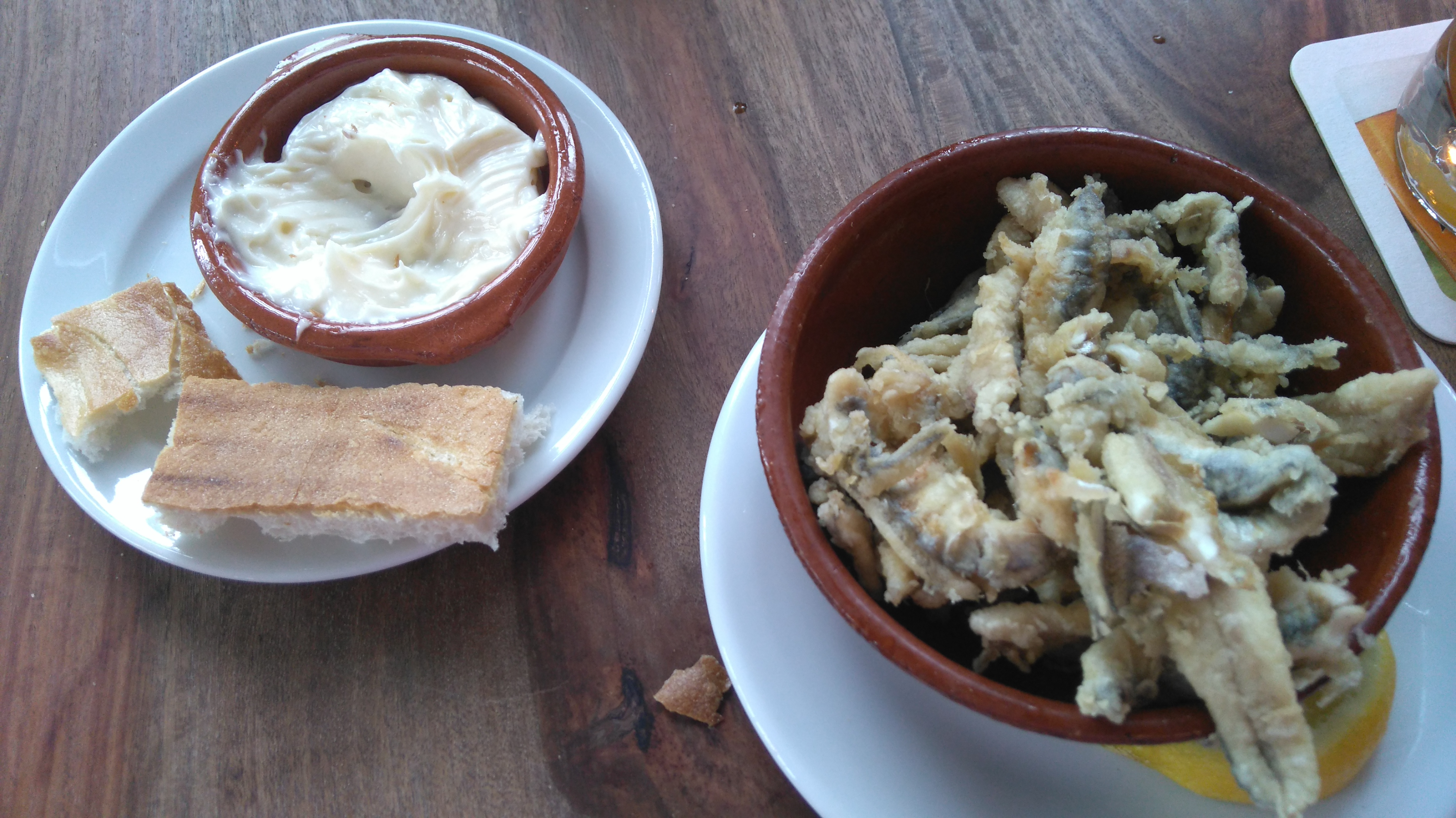 Aioli & Boquerones Fritos