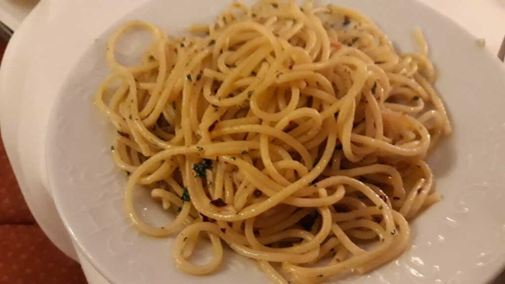 Spaghetti zur Dorade