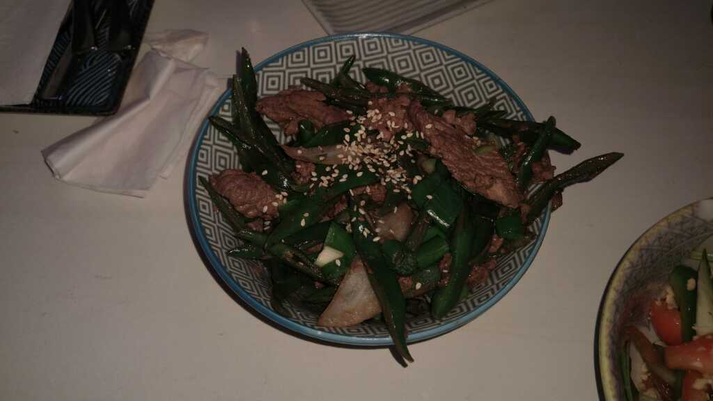 Co Xau Thit Do Dau - Rindfleich mit grünen Bohnen 6,90€
