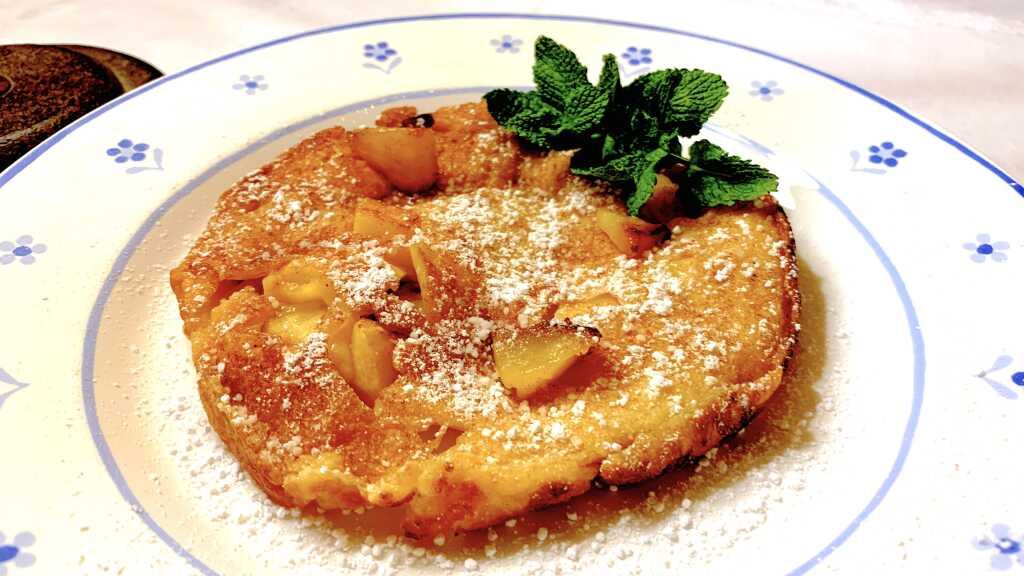 Kleine Apfelpfannkuchen