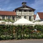 Foto zu Altes Wachthaus · Bistro · Biergarten: Biergarten
