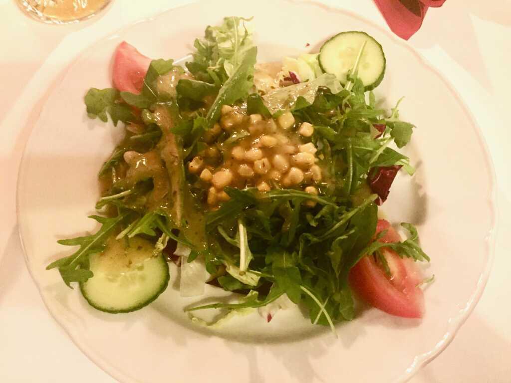 Piccola Mista, kleiner Teller mit knackig frischen Salaten