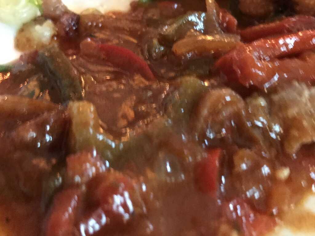 Paprika-Gemüse-Soßenbeilage zum Paprikaschnitzel