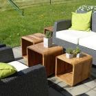 Foto zu Ristorante Del Gusto: Terrasse mit beigestellten Möbeln