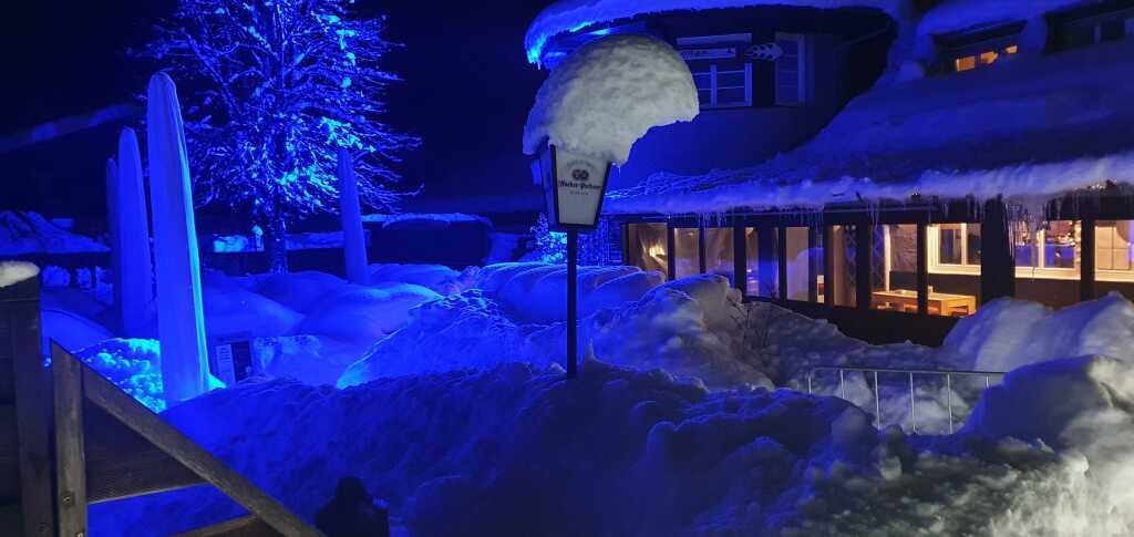 so schön ist kann eine Winternacht sein