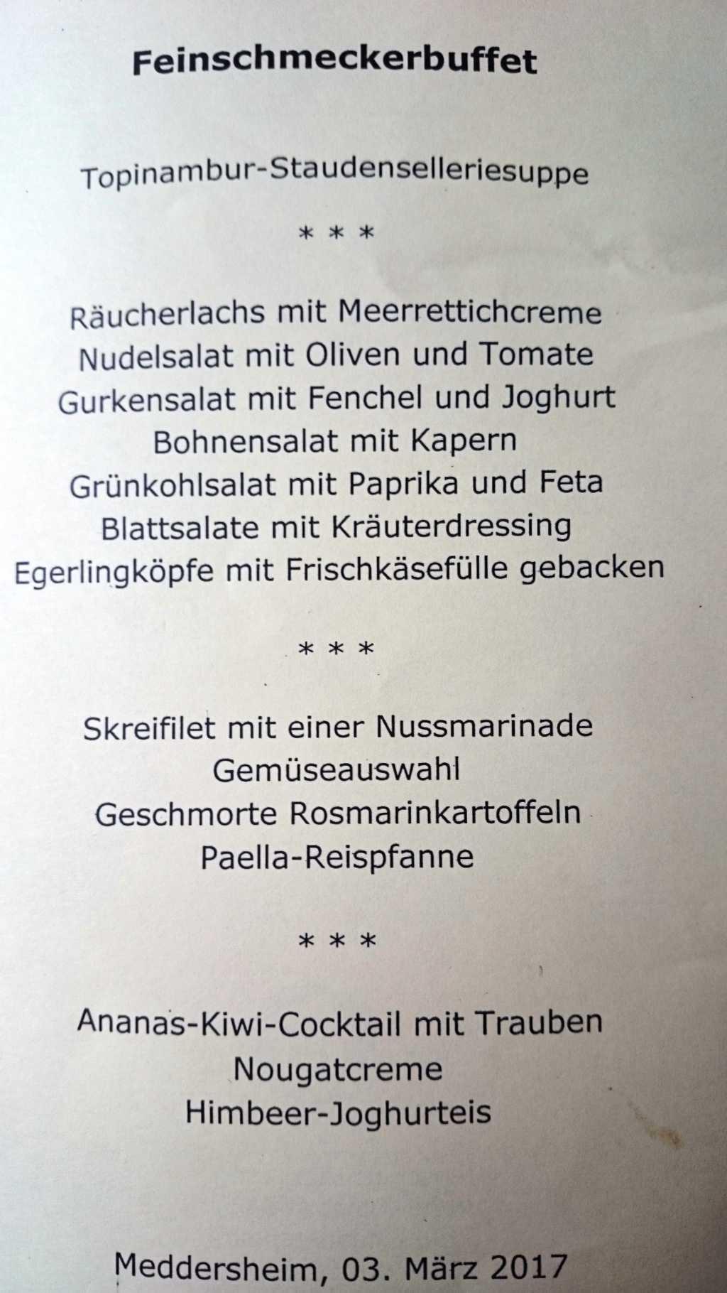 Vollwert-Buffet vom 03.03.17