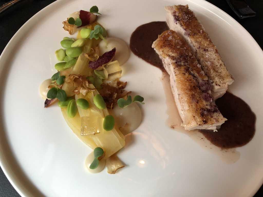 Schwarzfederhuhn / Topinambur / Purple Curry