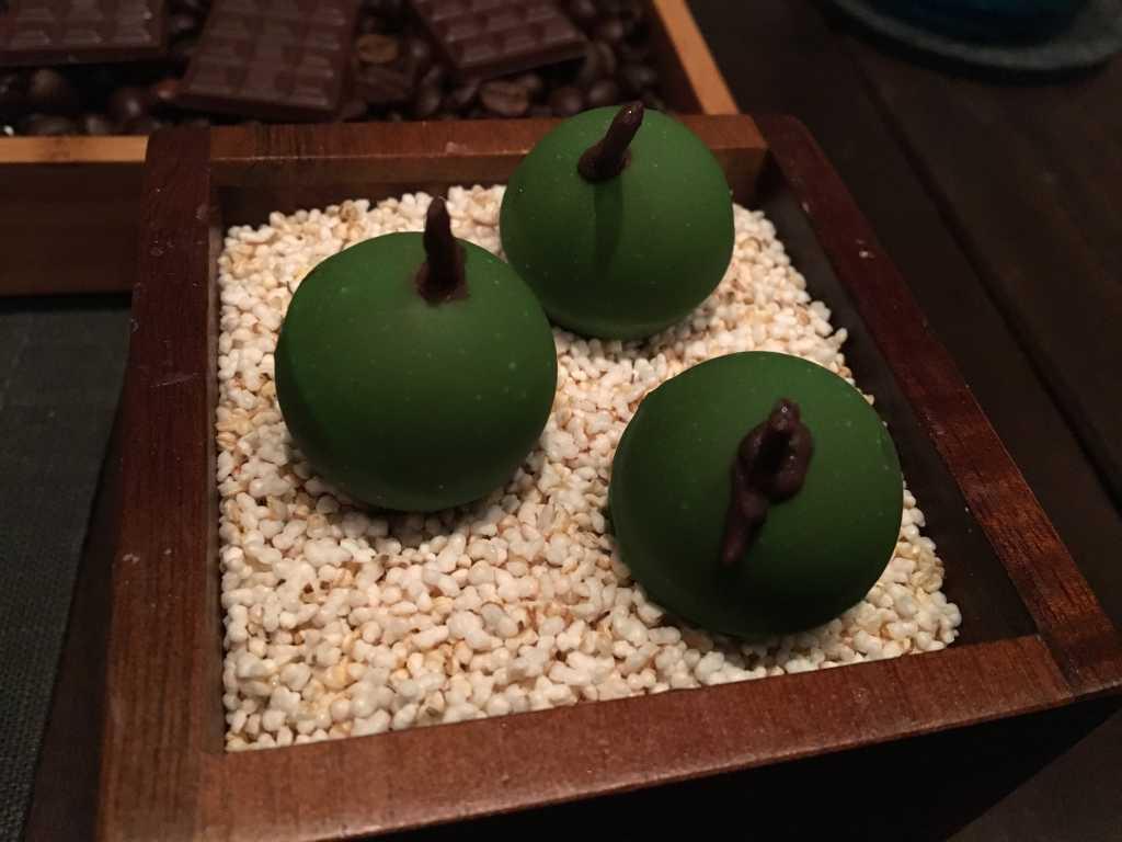 Apfel-Schokolade