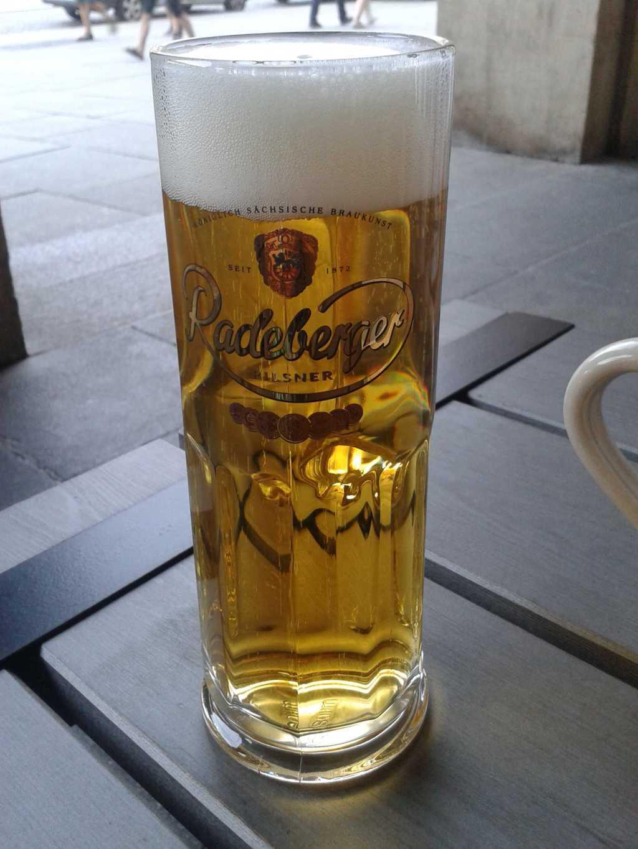 0,5ér Radeberger Pilsner