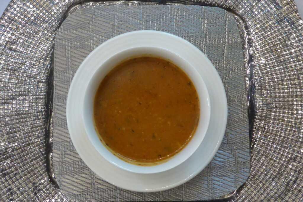 Wasserlose Suppe