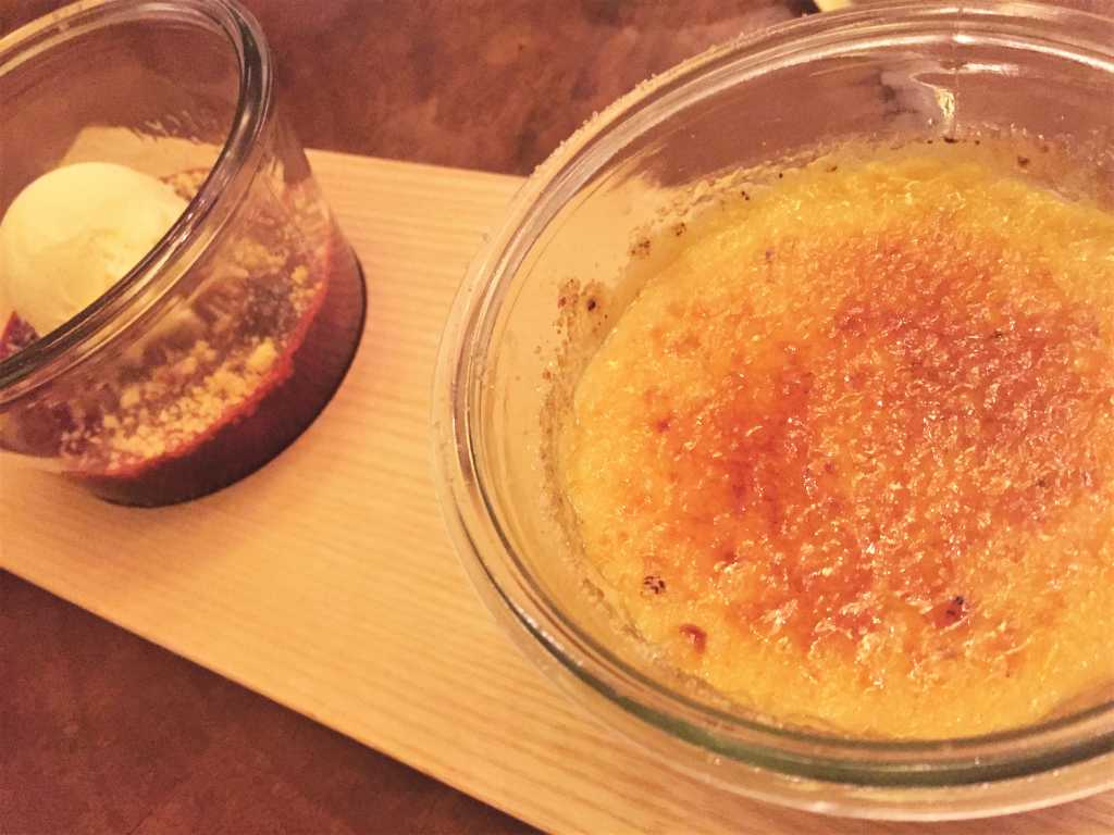 Tonkabohnen Crème Brûlée