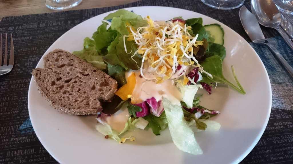 Kleines Salatarragement
