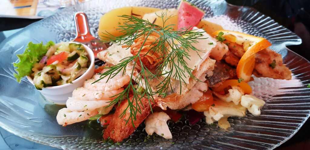 Fisch- und Meeresfrüchte-Traumplatte
