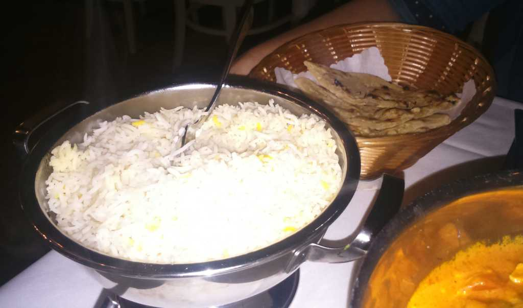 Maharaja - Reis und Naan