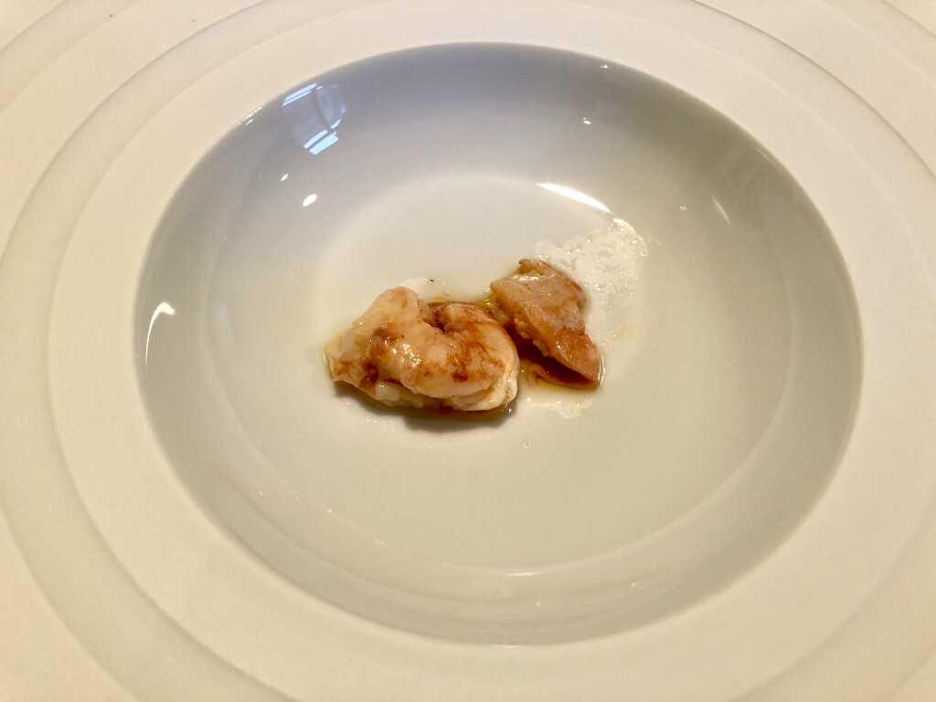 Flusskrebs-Suppeneinlage