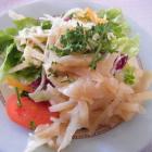 Foto zu Alte Schlachthof Kantine   ...am Lyonerring: Beilagensalat zu den Spaghetti