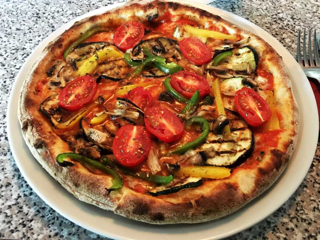 Vegetarische Pizza