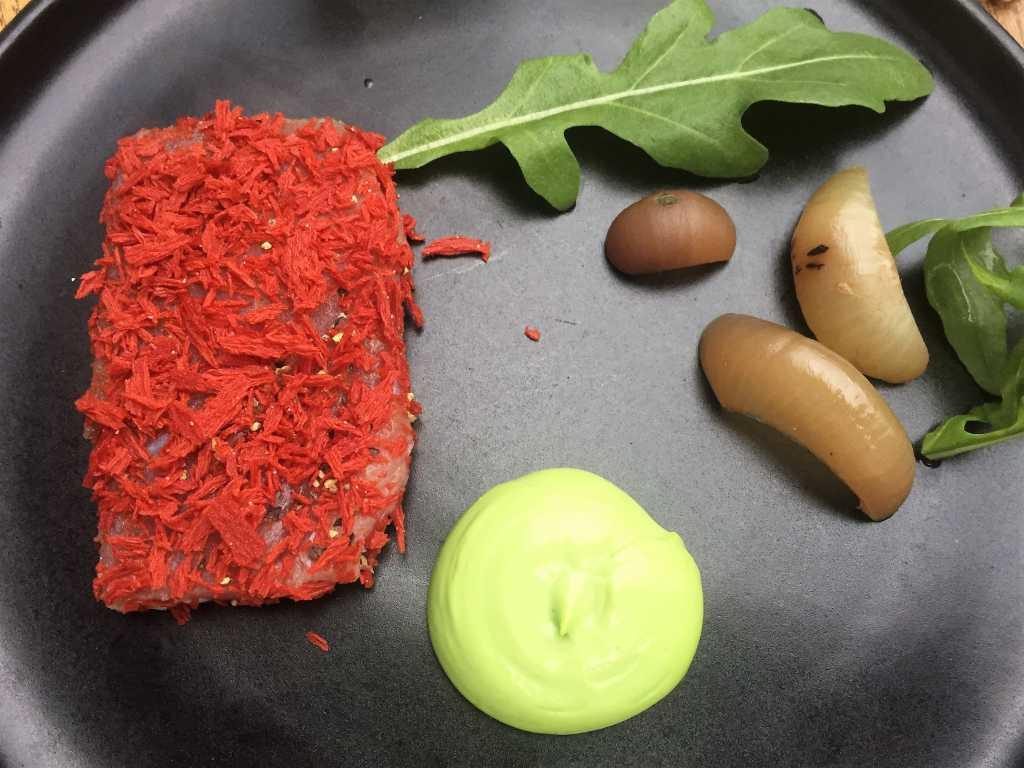 Thunfisch / Tomatenflocken / Rucola