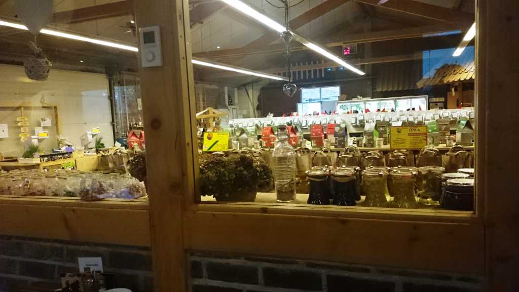 Blick in die Markthalle