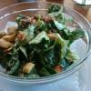 Feldsalat mit Kartoffel-Speck und beerigem Dressing