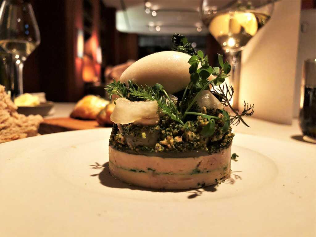 Enten-Leber - Haselnuss - Grünkohl – Blätterteig