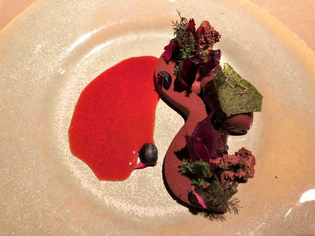 Schokolade Cru Virunga - Schlehe - Rote Bete – Kräutertee