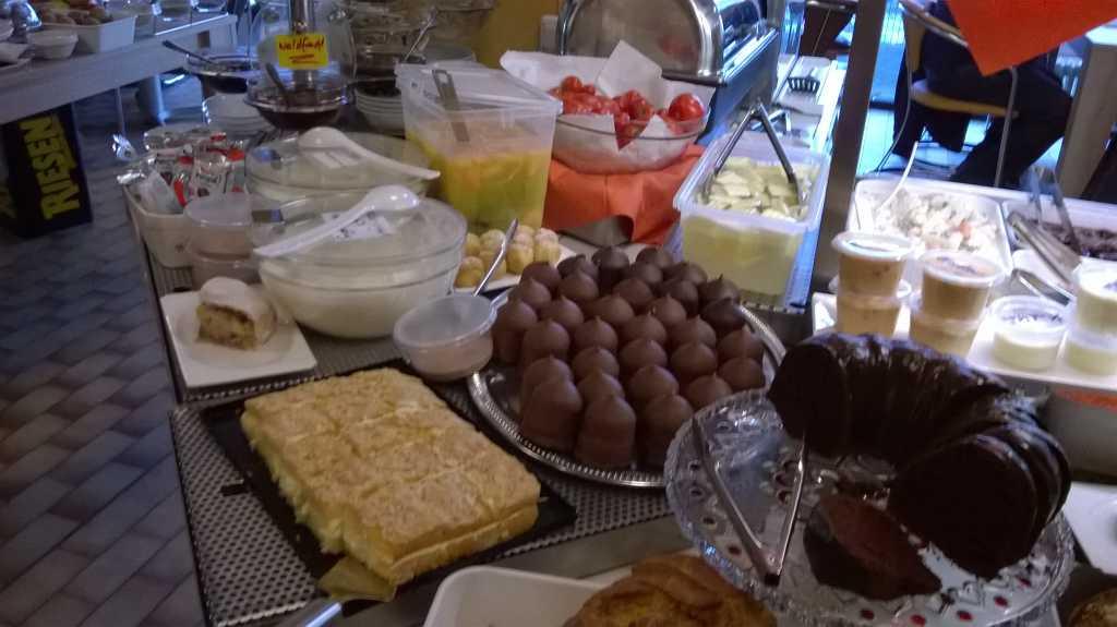 Aus der Kuchen- und Naschabteilung
