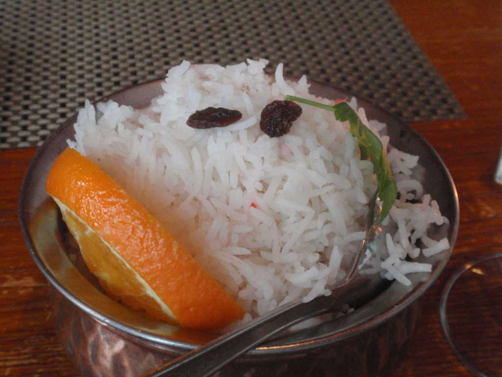 Reis-Schale