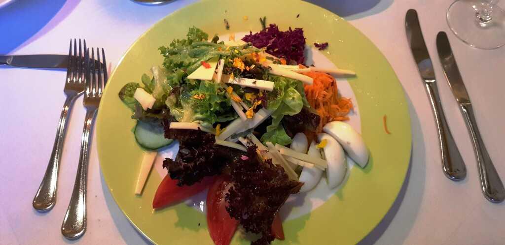 Gemischter BIO Salatteller