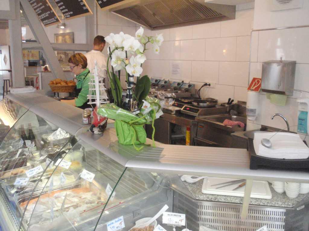 Theke und Küche