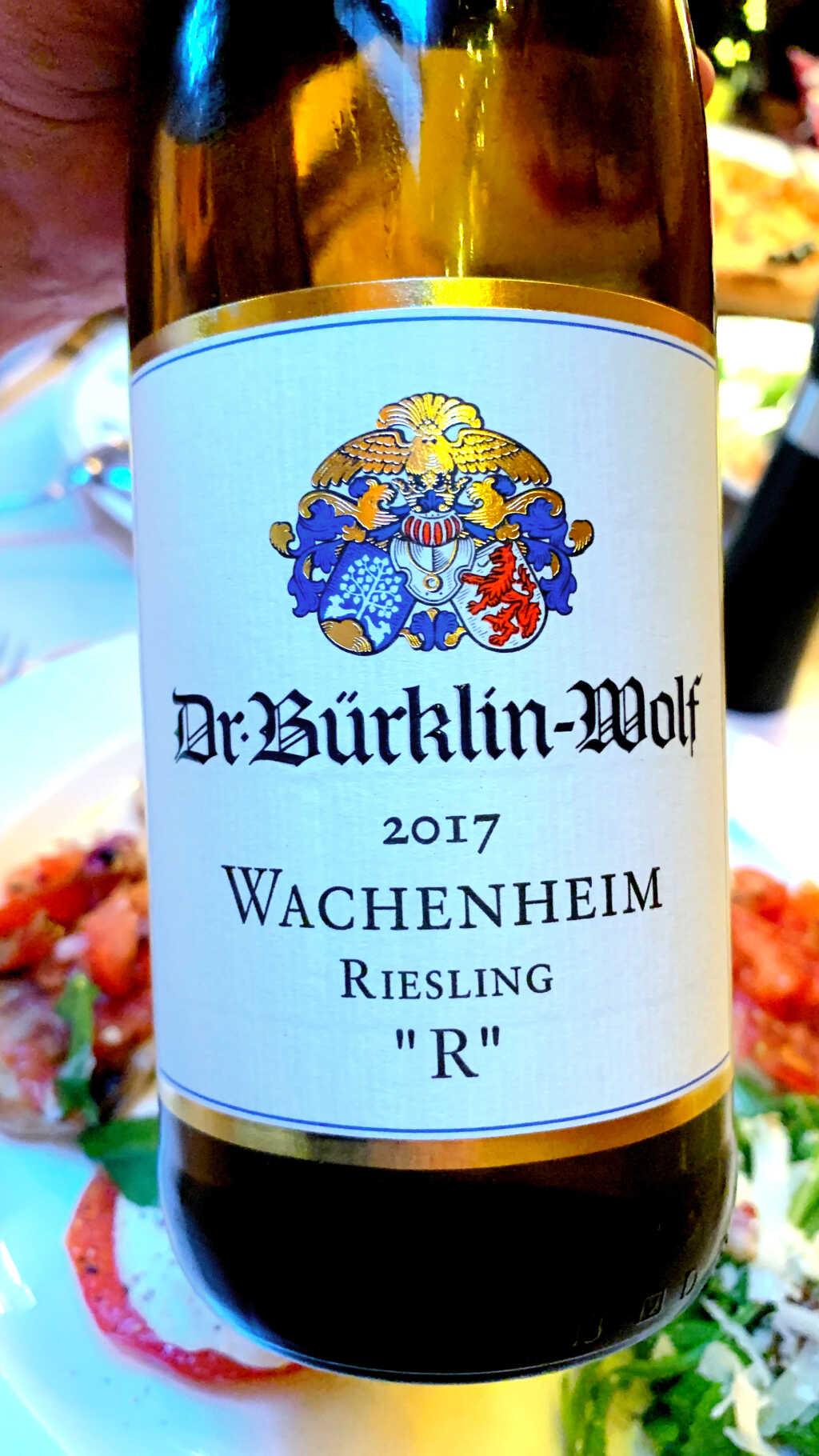 """2017 Wachenheimer Riesling """"R"""" (Hochformat, bitte anklicken sofern auf PC oder Mac betrachtet)"""