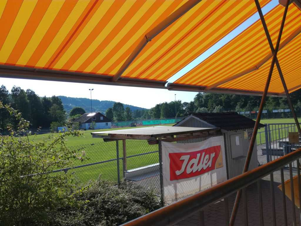 Blick von der terrasse