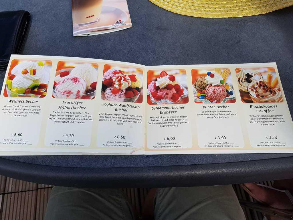 Eiskarte