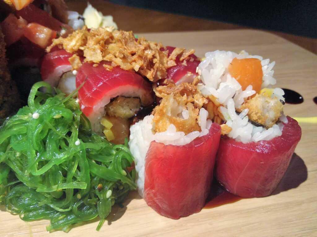 Die hübsch gerollte Überraschung des Sushi-Meisters