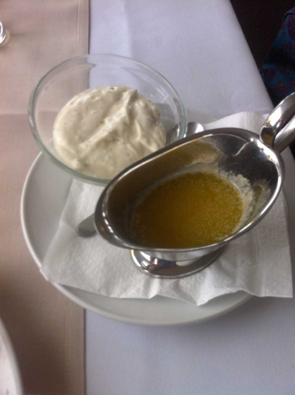 Remoulade und Butter