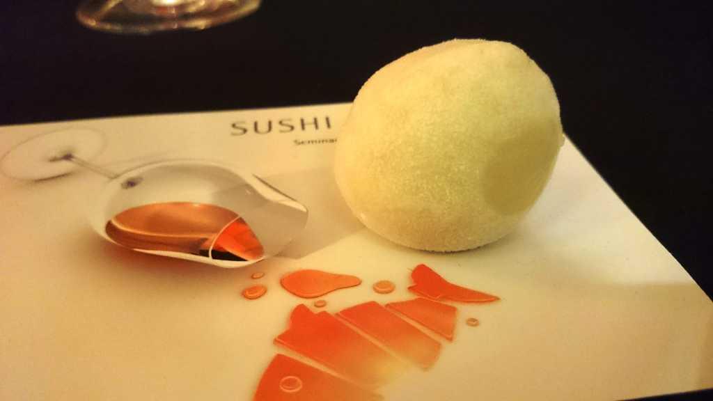 Japanisches Fingerfood-Dessert