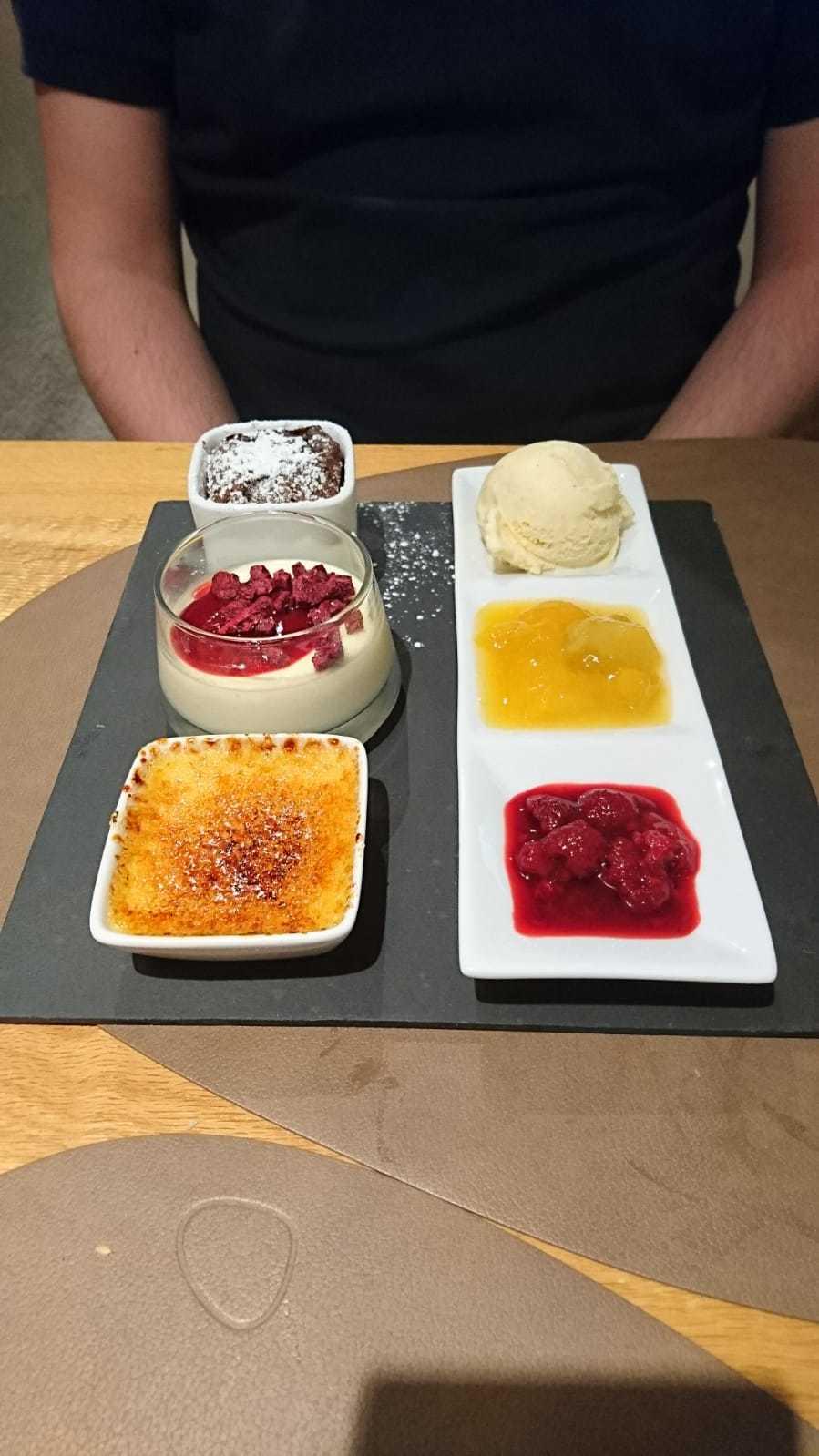Esszimmer Dessert Variation