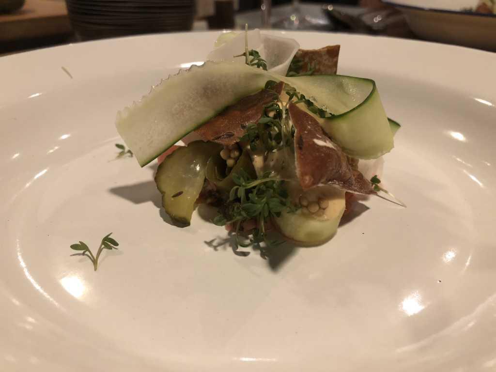 Vegetarische Wiesn / Radi / Gurke / Senf