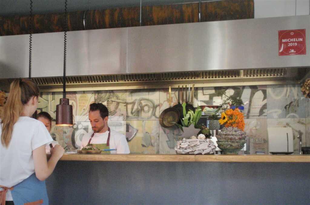 Küche-Theke-Michelinstern