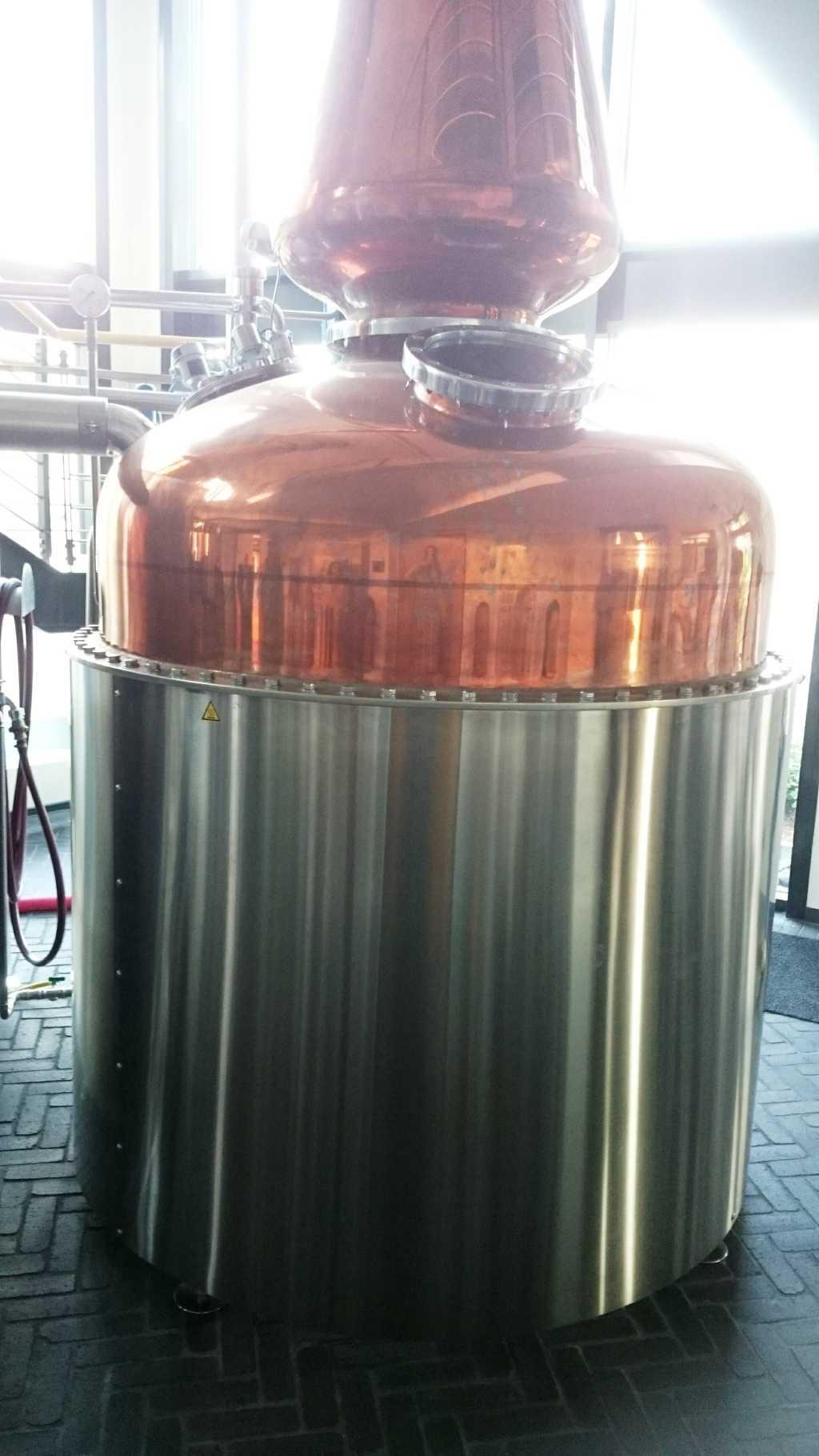Neuheit 2015: 1.400 Liter-Destille, überwiegend für Whisky