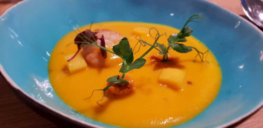 Karotten-Mango-Suppe