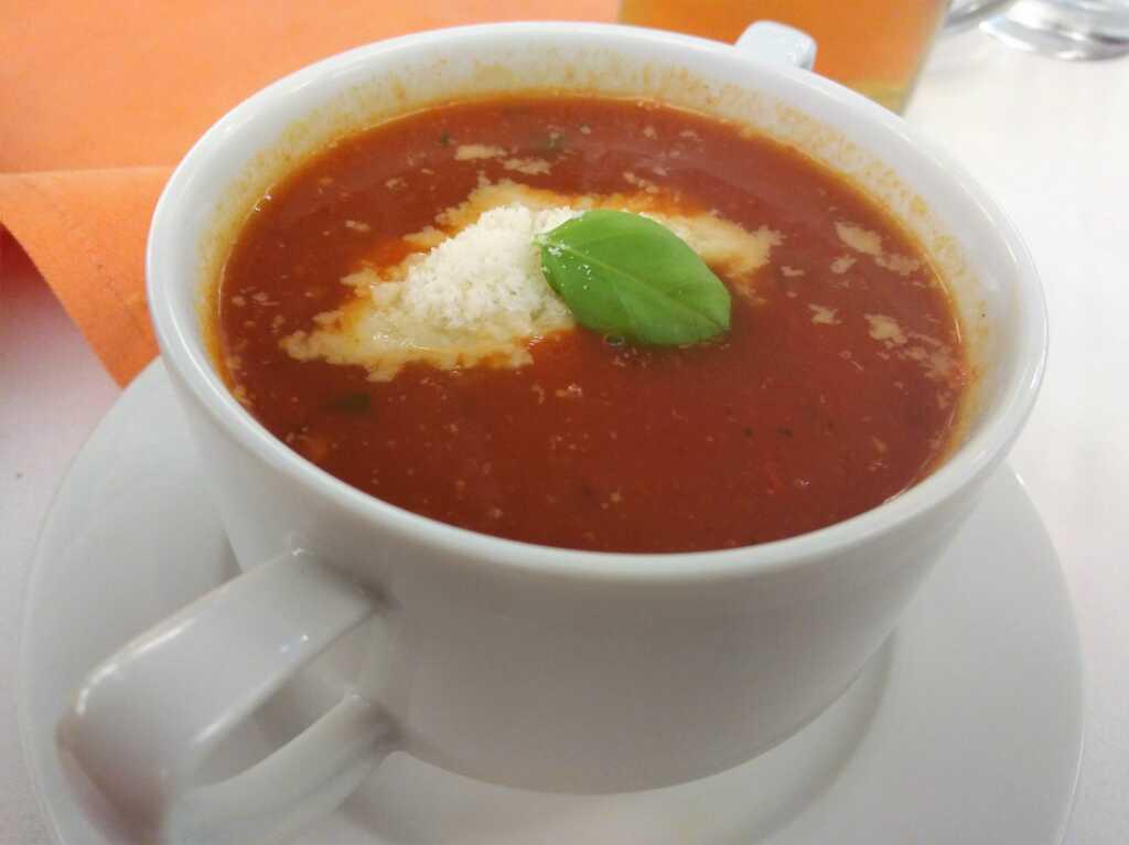 Zuppa di Pomodoro bravissima