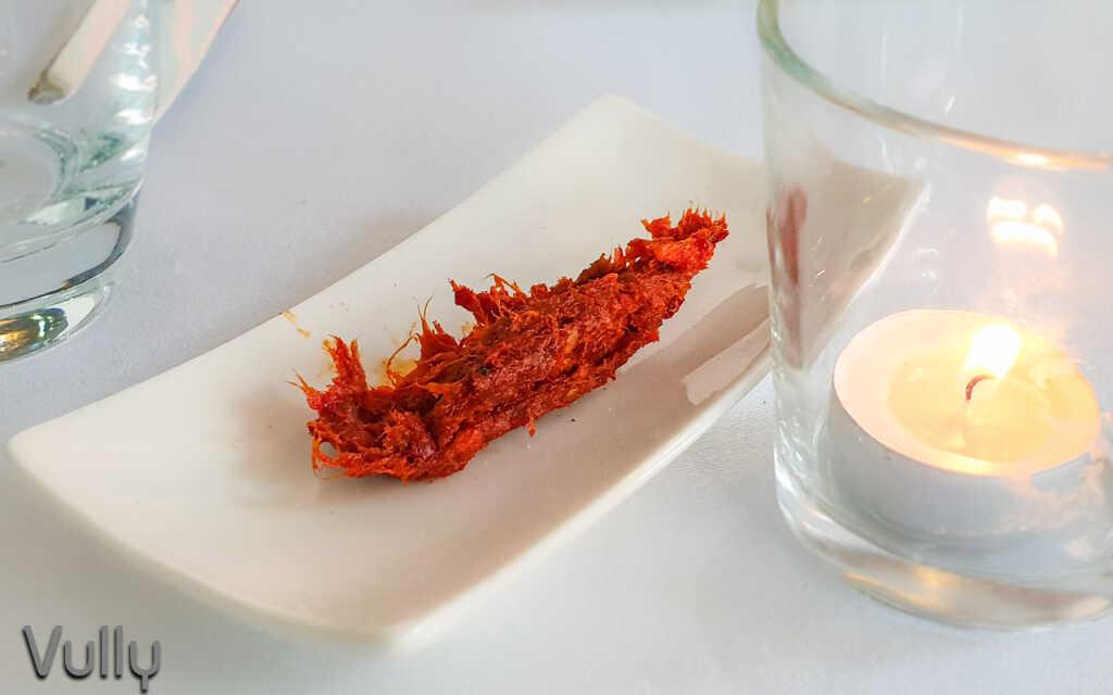 Gruß aus der Küche: Nduja - scharfe Streichsalami