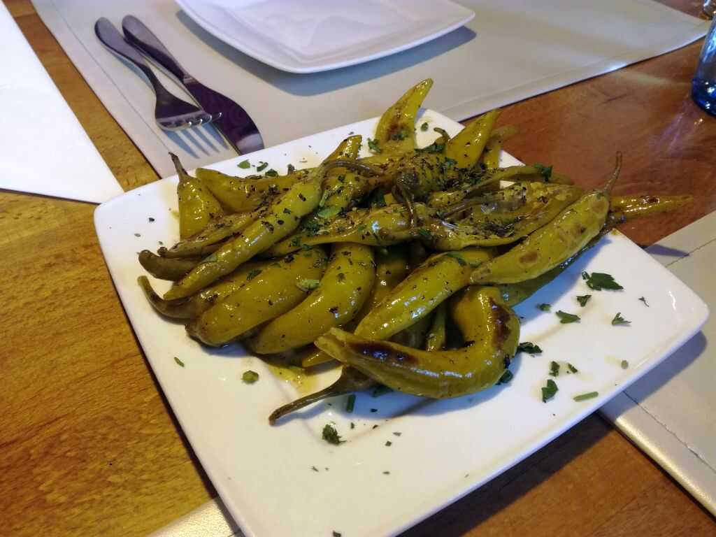gegrillte peperoni